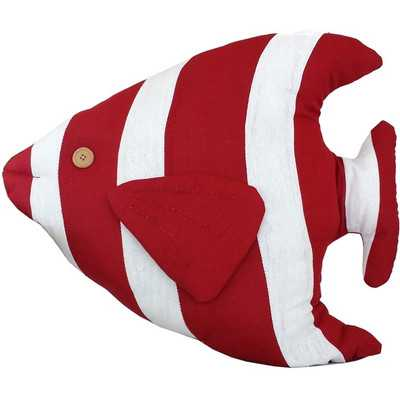 Tropical Fish Pillow - Wayfair