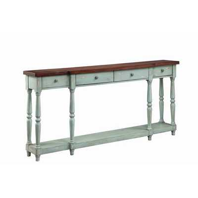 Simpson Four Drawer Console - Overstock