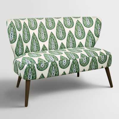 Kelly Bindi Kenway Upholstered Loveseat - World Market/Cost Plus