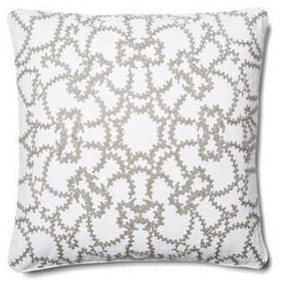 Scroll Medallion Pillow - One Kings Lane