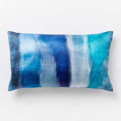 """Cloudy Abstract Pillow Cover -  12"""" x 21"""" - Insert sold separately - West Elm"""