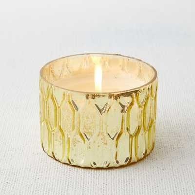 Honeycomb Mercury Scented Candles - Wide - West Elm