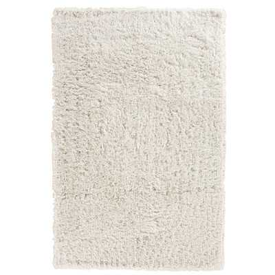 Pierce White Shag Area Rug - 5' x 8' - Wayfair