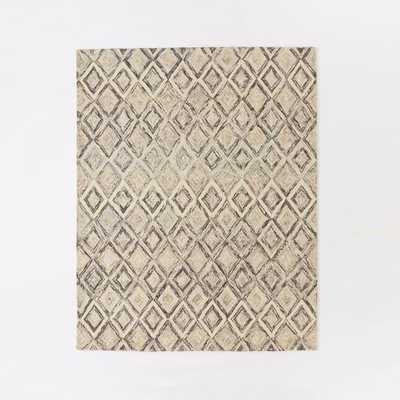 """Prism Wool Rug - Slate - 8"""" x 10"""" - West Elm"""