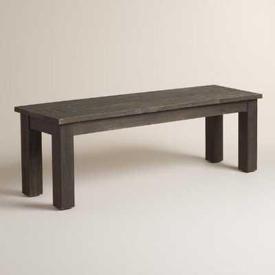 Espresso Wood Hermosa Dining Bench - World Market/Cost Plus