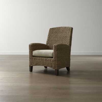 Kona Chair with Cushion - Crate and Barrel