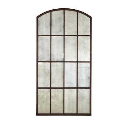 Amiel Arch Antiqued Leaner Mirror - Ballard Designs