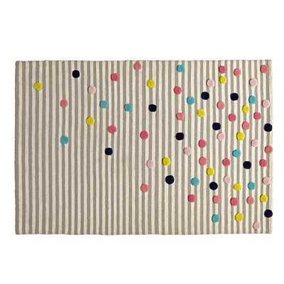 Sprinkled Stripes Rug - Land of Nod