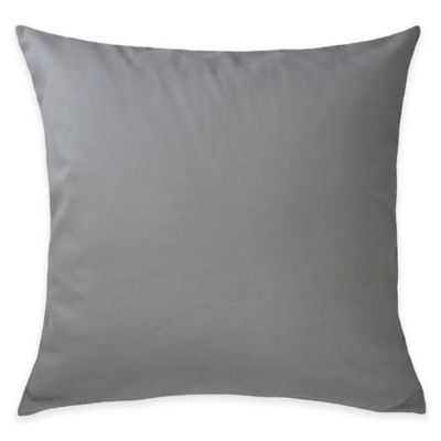 Blissliving® Home Guadalupe Reversible European Pillow Sham in Grey - Bed Bath & Beyond