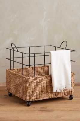 Cage Rolling Basket - Anthropologie