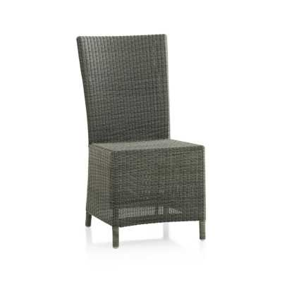 Captiva Grey Dining Chair - Crate and Barrel