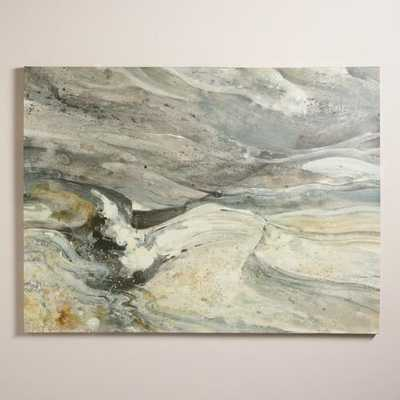 """Greystone"" by Albena Hristova - 48x36 - Unframed - World Market/Cost Plus"