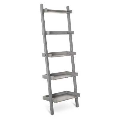 Lowry 5 Shelf Leaning Bookcase - Target