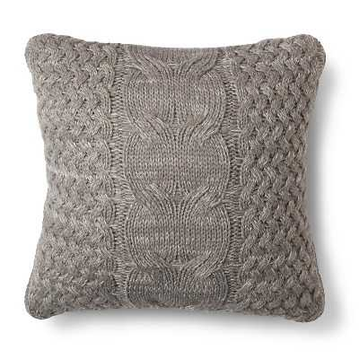 Cable Knit Throw Pillow - Target