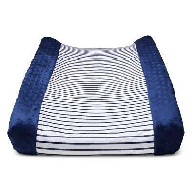 """Circoâ""""¢ Wipeable Changing Pad Cover - Navy Stripe - Target"""