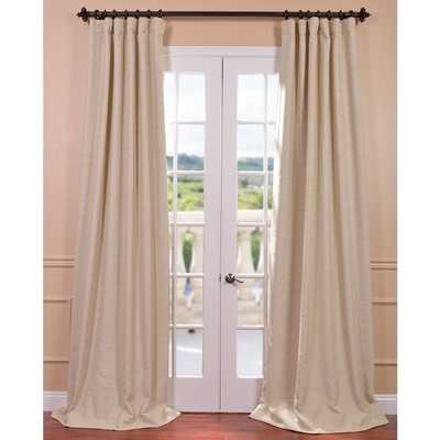 """EFF Candlelight Bellino Blackout Curtain Panel - 50"""" x 96"""" - Overstock"""