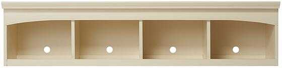 EDINBURGH CENTER BRIDGE-WHITE - Home Decorators
