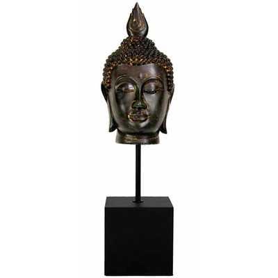 Burmese Buddha Head Bust - AllModern