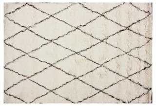 Naomi Rug, Ivory - 8' x 10' - One Kings Lane