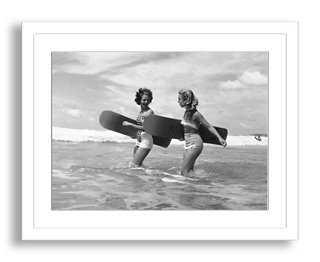 """John Chillingworth, Surf Rider- 24"""" x 18""""- Framed - One Kings Lane"""