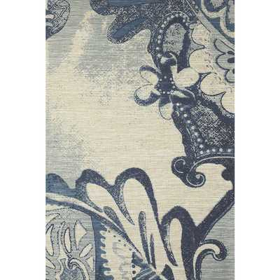 Feizy Verapaz Blue Hand-woven Rug - Overstock