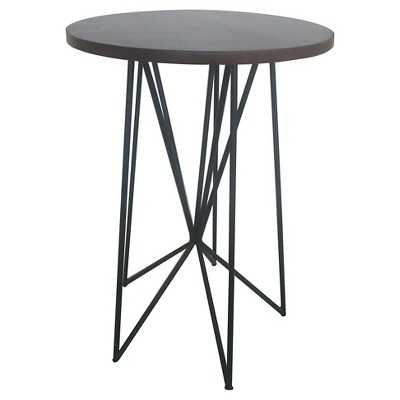 "Room Essentialsâ""¢ Mixed Material Accent Table - Black - Target"