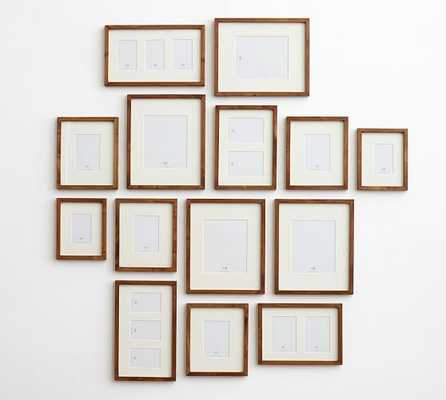 Gallery in a Box, Espresso stain Frames - Set of 6 - Pottery Barn