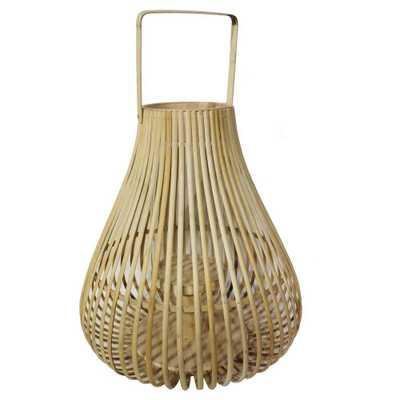 Threshold Bamboo Lantern - Domino