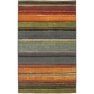 Mohawk Home Rainbow Multi Stripe Rug Rug - 8' x 10' - Wayfair