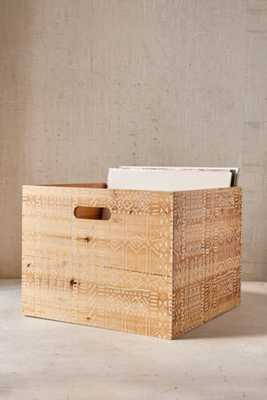Wood Storage Crate - White - Urban Outfitters