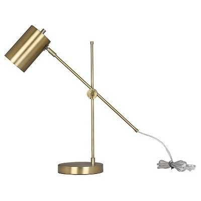 "Thresholdâ""¢ Brass Task Lamp with Cylinder Shade - Target"