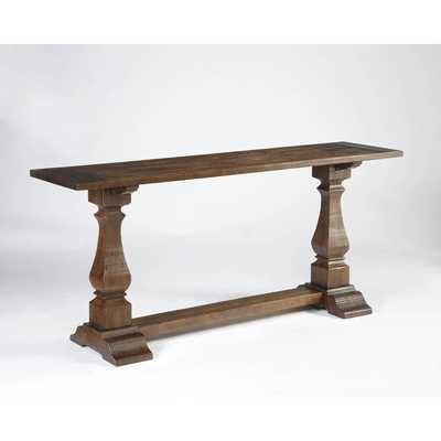 Signature Design by Ashley Vennilux Dark Brown Console Table - Overstock