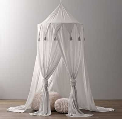 cotton voile play canopy - RH Baby & Child