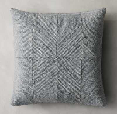 PIAZZA PILLOW COVER - SQUARE - RH