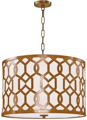 Crystorama Jennings 5-Light Pendant - Lamps Plus