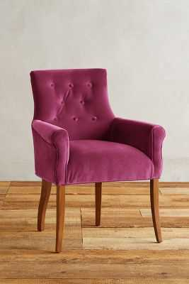 Velvet Abner Armchair - Anthropologie