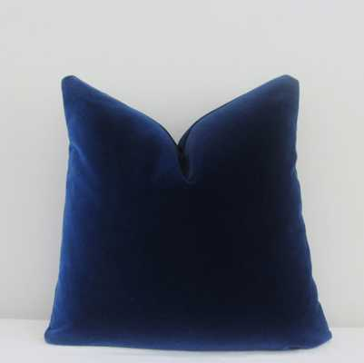 Midnight Velvet Pillow Cover - 20x20 - No Insert - Etsy
