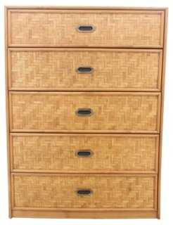 Dixie Rattan Chest of Drawers - One Kings Lane