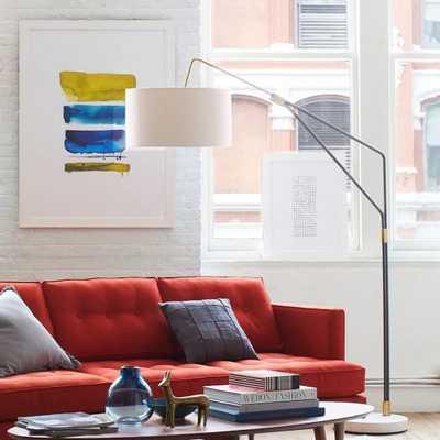 Mid-Century Overarching Floor Lamp - West Elm