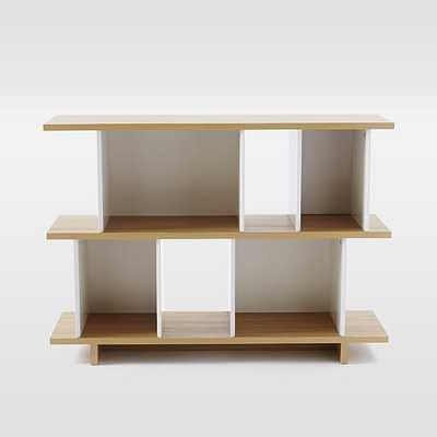 Boxes + Planes Bookshelf - Short - West Elm