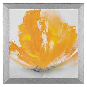 Wild Orange 2 - 27.5''W x 27.5''H - Framed - Z Gallerie