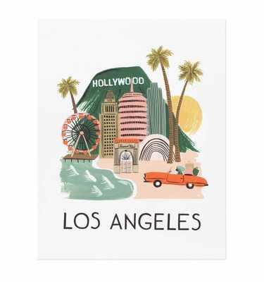 Print- Los Angeles-8'x10'-Unframed - riflepaperco.com