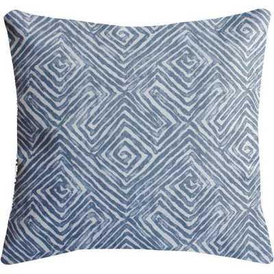 Cotton Maze Print Throw Pillow - High Street Market
