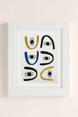 Seventy Tree All Eye Art Print - 18X24 - Framed - Urban Outfitters