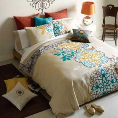 Blissliving Home Shangri-La Bedding King Reversible Duvet Set - walltat.com
