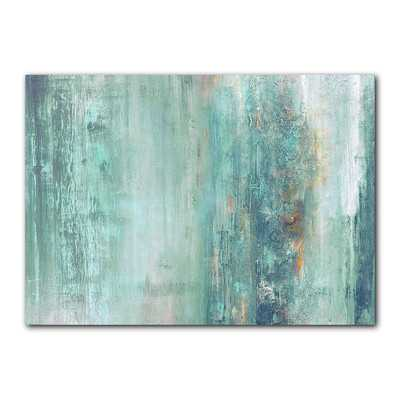 """Abstract Spa' Gallery Wrapped Canvas - 30"""" H x 40"""" W - Unframed - Wayfair"""