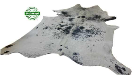 GRAY SALT & PEPPER Cowhide Rug - Etsy