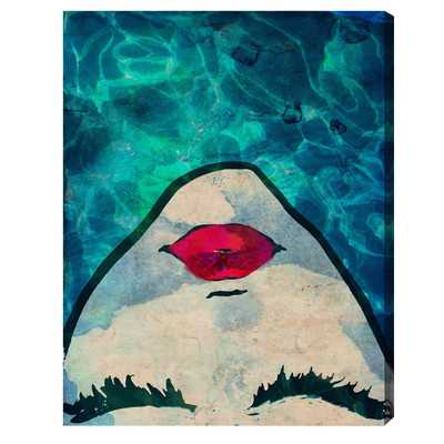 Watercoveted Graphic Art on Wrapped Canvas - 59x50, Unframed - Wayfair