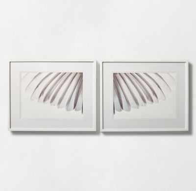"""WHITE FEATHERS PHOTOGRAPHY-32""""x26""""-Framed - RH Teen"""