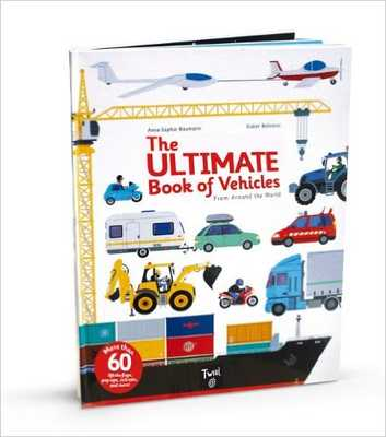 The Ultimate Book of Vehicles: From Around the World - saksfifthavenue.com